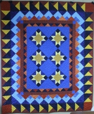 Sample of Shop Hop Quilt